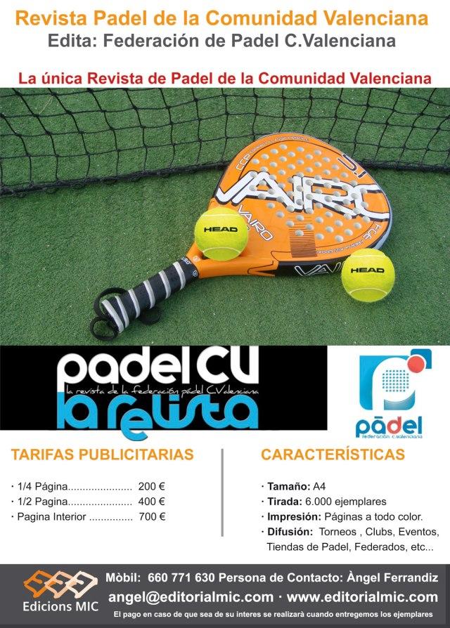 Tarifas-Padel